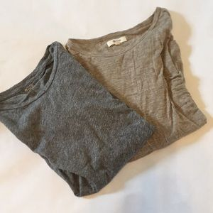 Bundle of Madewell T-shirts M/L